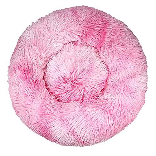 Yuan Meng Cama cálida para Mascotas,Nido para Mascotas de Pelo Largo y abrigado-K_110CM,Cama para Mascotas de Piel Lavable