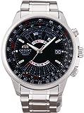 オリエント時計 腕時計 オリエント 自動巻 万年カレンダー 海外モデル SEU07005BX メンズ シルバー