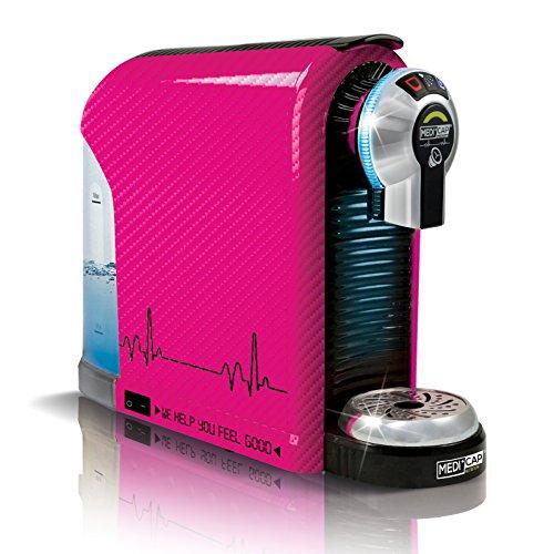 MediCap 20 450 Revovery Kapselmaschine Deluxe, 19 Bar, rosa