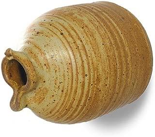 Modern Artisans American Handmade Stoneware Peek-a-Boo Birdhouse Bottle, Butternut Color