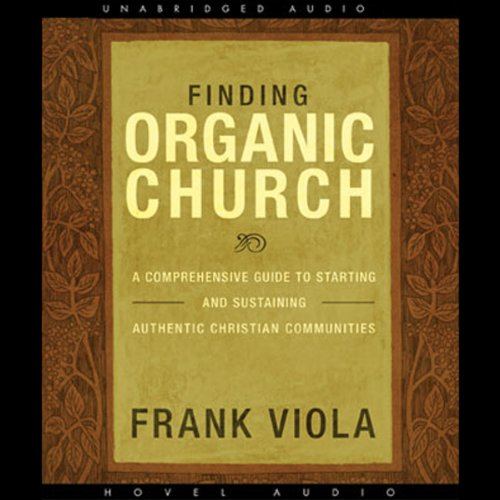 Finding Organic Church audiobook cover art