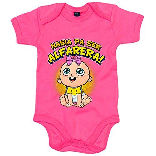 Body bebé nacida para ser Alfarera para aficionada al fútb