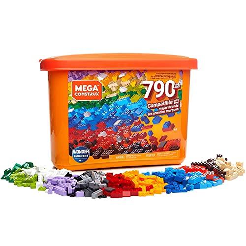 Mega Construx Caja de 790 piezas y bloques
