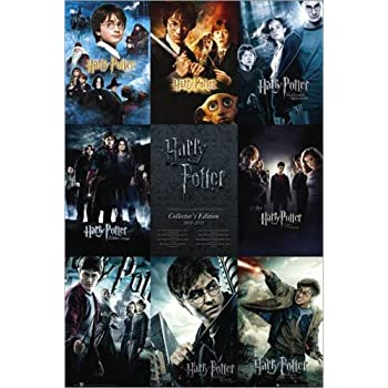 Póster Harry Potter - collection - cartel económico, Maxi Póster 61x91,5 cm: Amazon.es: Hogar