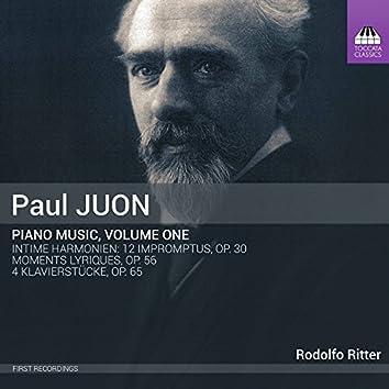 Juon: Piano Music, Vol. 1