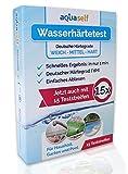 aquaself Wasserhärte Teststreifen (15 Stück) –...