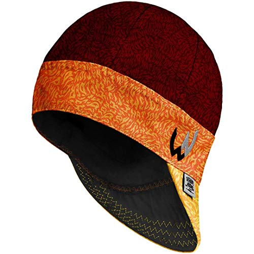Welder Nation 8 Panel Soft, Light Weight Cotton Welding Cap, Durable for Safety and Protection While Welding. Stick ARC. The Buck