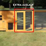Poulailler Extension de haute qualité 65x80x68cm-Extension variante pour le modèle Flexi