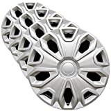 Premium Replica Hubcap Set, Replacement for Ford Transit 2015-2019, 16-inch Wheel Cover (4 Pieces)