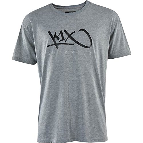 k1x HARDWOOD T-SHIRT heather grey