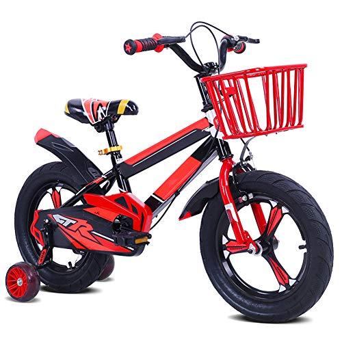 Hanbei Kinder Fahrrad Kinderrad Faltbare, Kinderfahrrad für Mädchen und Jungen ab 3-8 Jahre, 12-16 Zoll, Fahrrad für Kinder.