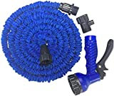 Alittle 25-150 FT Multifunction Expanding Garden Water Hose Pipe with 7 Patterns Spray