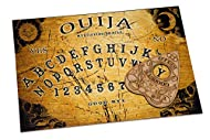 WICCSTAR Wooden Spirit Board game with Planchette and detailed instruction