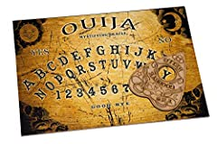 🔹 Ouija Board Dimensions: A4 Sized - 12 x 9 Inches 🔹 The spirit board was first marketed as a game in the 1890s with no explanation of how it worked, just that it could answer questions about the past, present of future with uncanny accuracy, and tha...