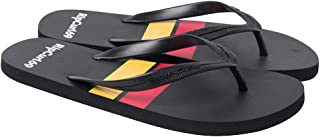 Rip Curl Men's Stacked Thong Sandals, Black