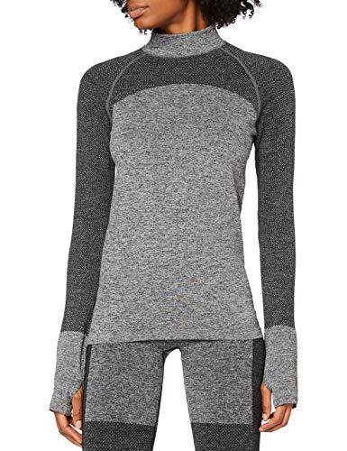 AURIQUE Damen Gym Top, Grau, 36, Label:S