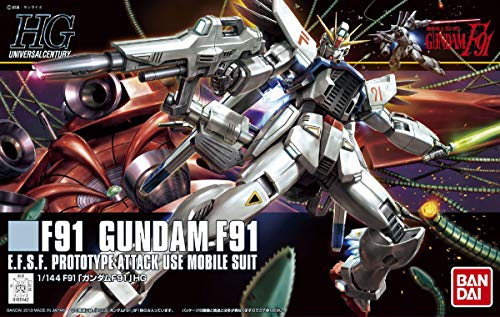 HGUC 1/144 ガンダムF91 (機動戦士ガンダムF91)
