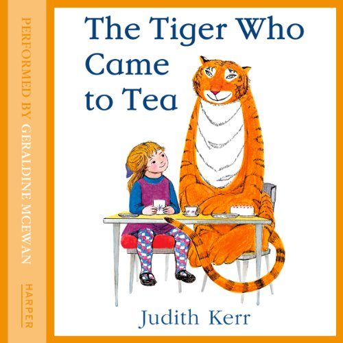 The Tiger Who Came to Tea audiobook cover art