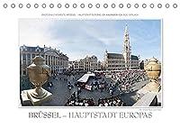 Emotionale Momente: Bruessel - Hauptstadt Europas (Tischkalender 2022 DIN A5 quer): Bruessel wird oft die Hauptstadt Euroas genannt. Diese wunderschoene und attraktive Stadt hat der renommierte Fotograf Ingo Gerlach in seinen Bildern festgehalten. (Monatskalender, 14 Seiten )