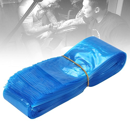 100piezas desechables plástico azul Key2Life–Higiene Tattoo eléctrica Clip Cord...