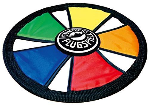 Paul Günther 1381 – Soft Flying Disc Frisbee, van textiel, diameter ca. 25 cm.