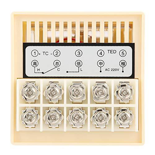 Termostato de puntero tipo K, termostato de puntero, horno de desgaste transparente inteligente de alta precisión para el invernadero de la máquina de empaquetado