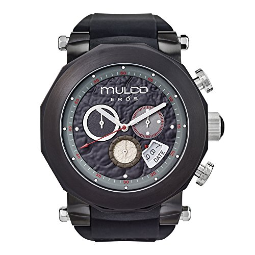Mulco Eros MW3-14027-025 Black Band Swiss Quartz Watch