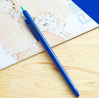Royare of School Supplies 3Pcs/Set Candy Gel Pen Kit Signing Pen Student Stationery Supplies (Dark Blue)