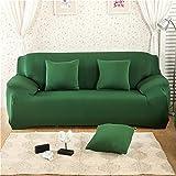 WXQY Solid Color Stretch Sofa Cover L-Shaped Corner Stretch Sofa Cover Combination Pet Protection Non-Slip Sofa Cover A22 3 Seater