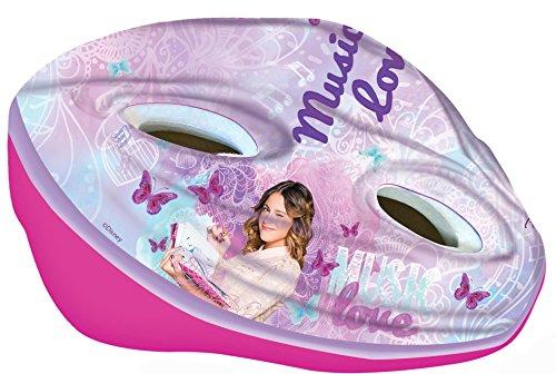 Disney Mädchen Violetta Fahrradhelm für Kinder, Rosa, M