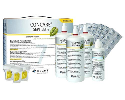 Concare Sept Aktiv Multipack 3 x 360ml + 100 ml Concare Kochsalzlösung