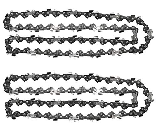 KEYHAO Chainsaw Chain,16 inch 3/8 LP .050 Inch 56 Drive Links,Compatible fits for Craftsman, Echo, Homelite, Poulan, Remington(Pack of 2)