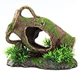 Aqua KT Aquarium Landscaping Leaning Vase Rock Decoration for Fish Tank Garden Pound Ornament