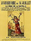 Malalpha Poster zum 14. Juliet. La prise de la Bastille –