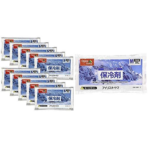 アイリスオーヤマ 保冷剤 ソフト CKF-150 【10個セット】 & 保冷剤 ソフト CKF-300 【5個セット】【セット買い】