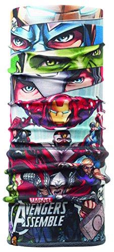 Buff Polar Foulard Multifonction Superheroes jR pour Enfant Taille Unique Multicolore - Assemble