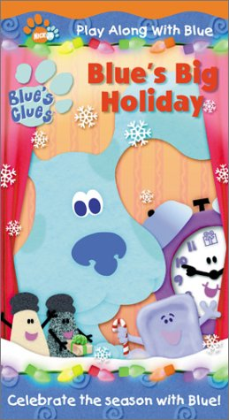 Blue's Clues - Blue's Big Holiday [VHS]
