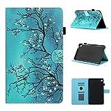 Galaxy Tab A7 Lite 8.4 pollice 2021 Custodia per Samsung Tablet A7 Lite T220 T225 Robusta Caso, Stand Wallet Cover, Antiurto Back Case (Fiore)