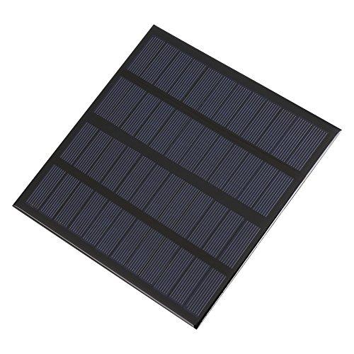 Fdit 3 W 12 V mini zonnepaneel draagbaar DIY power module oplader voor huis tuin gebruik zonne-licht Socialme-EU