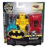 DC Comics Batman Missions Gotham City G.E.A.R. Robin Figure & Vehicle