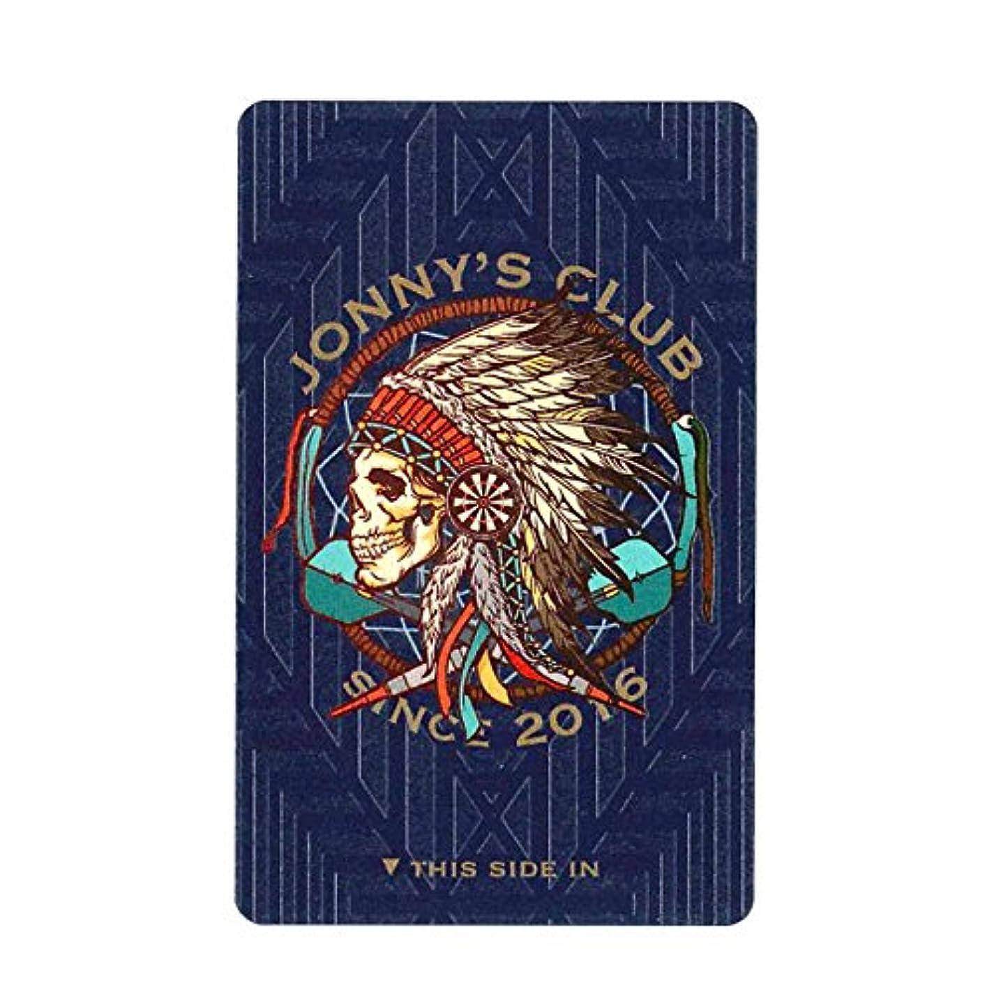 いつでもピストンブラシ【ステッカーシート JONNYS CLUB(ジョニーズクラブ) DARTSLIVE CARD (ダーツライブカード)