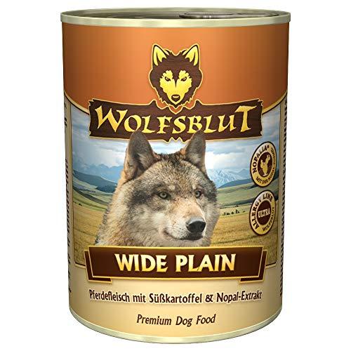 Wolfsblut Wide Plain Nassfutter Hundefutter Nass Futter 12 x 395g