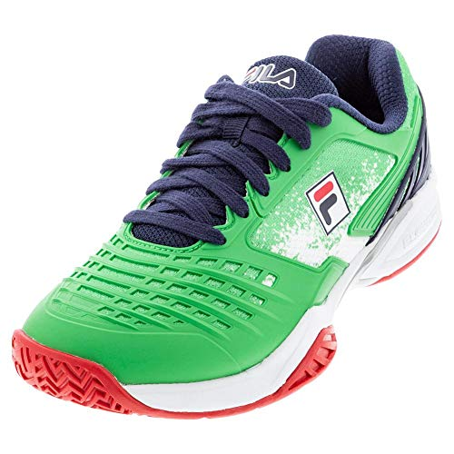 Fila Axilus 2 Energized Limited Edition US Open Womens Tennis Shoes, Green/Red/White/Blue (US Size 8)
