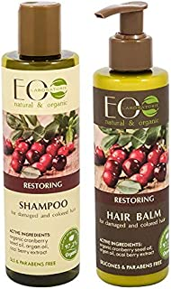 EO Laboratorie natural & organic For Damaged & Colored Hair Restoring Shampoo, 250 ml + Conditioner, 200 ml