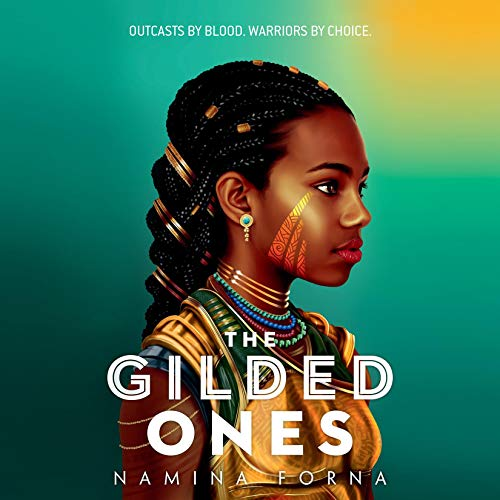The Gilded Ones audiobook cover art