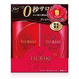 TSUBAKI(ツバキ) プレミアムモイスト 体感セット (シャンプー&コンディショナー) みずみずしいフローラルフルーティーの香り 490mL + 490mL