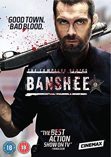 Banshee - Season 1-4 [DVD] UK-Import, Sprache-Englisch