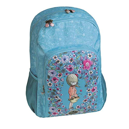 mochila escolar doble PETALS by BUSQUETS