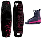 Mystique New Hyperlite Women's Wakeboard 2020 Complete Package Fits Women's 5-10 (135 cm)