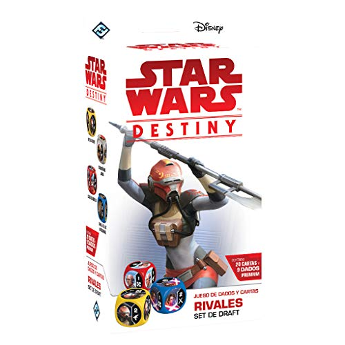 Fantasy Flight Games- Star Wars Destiny: Rivales Set de Draft - Español, Color (FFSWD06)